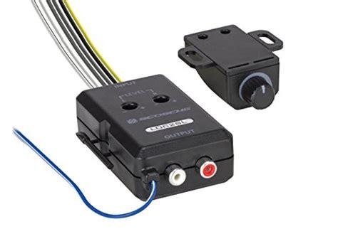 scosche locsl car stereo  channel adjustable amplifier