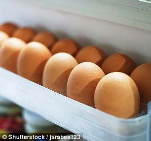 Eggs In The Fridge Or Cupboard by Eggs Should Not Be Put In The Fridge Door Daily Mail
