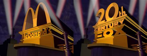 20th Century Fox Mcdonalds 1988 Remake (old) By