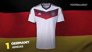 Top 10 2014 World Cup Kits - YouTube