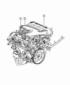 2008 Dodge Charger Engine  Long Block  Remanufactured  Output  High  Mpi