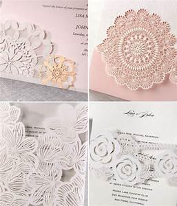 laser cut wedding invitations from b wedding invitations With laser cut lace wedding invitations canada