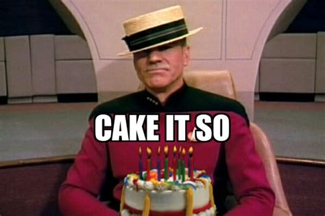 Happy Birthday Star Trek Meme - happy 50th treknobabble
