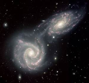APOD: 2008 July 21 - The Colliding Spiral Galaxies of Arp 271