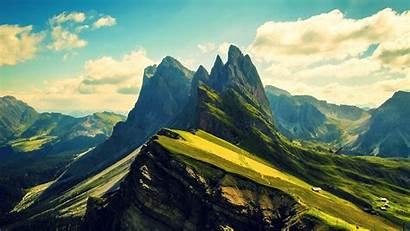 Mountain Mountains Ridges Dolomites Desktop Wallpapers Backgrounds
