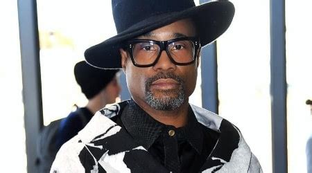 Billy Porter Entertainer Height Weight Age Body