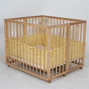Lit Enfant Double : lit d appoint lit double parc bebe pour jumeaux 2en1 jaune visuel 2 ~ Teatrodelosmanantiales.com Idées de Décoration