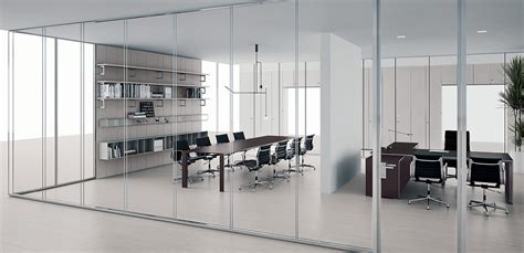 pareti divisorie  vetro vision  citterio