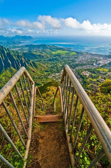 Haiku Stairs Oahu Hawaii World Travel