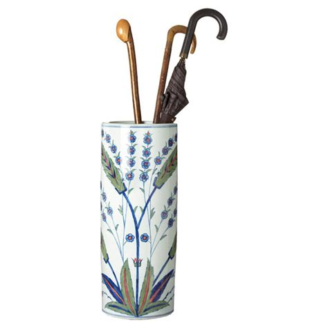 What Are Bed Curtains by Iznik Umbrella Stand Oka