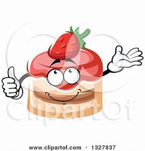 Royalty-Free (RF) Strawberry Cake Clipart, Illustrations ...