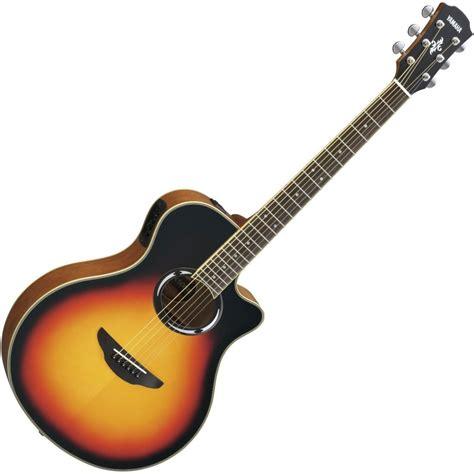 yamaha apx 500 yamaha apx500 iii electro acoustic guitar violin sunburst at gear4music