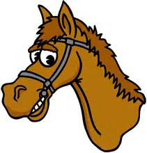 Image result for Cartoon Horse Head Clip Art