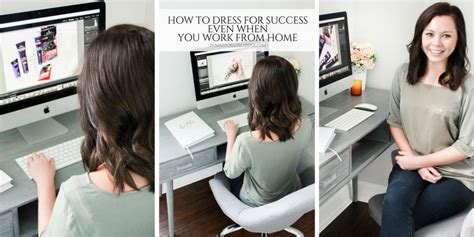 How To Dress For Success Even When You Work From Home