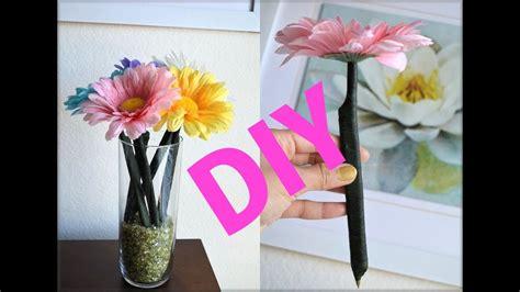 diy room decoration flower pens gift idea aprilathena