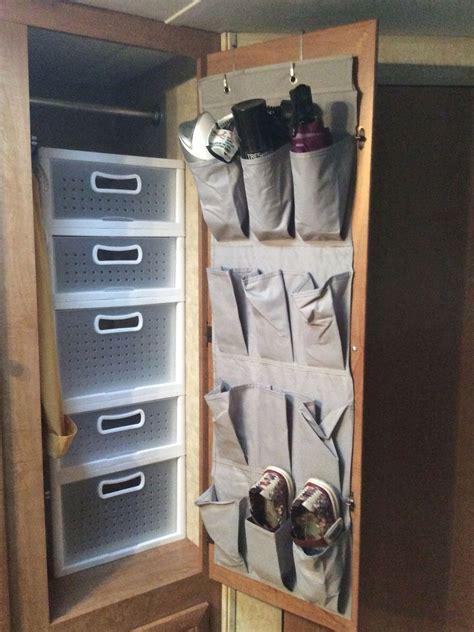 top  camper van rv storage ideas