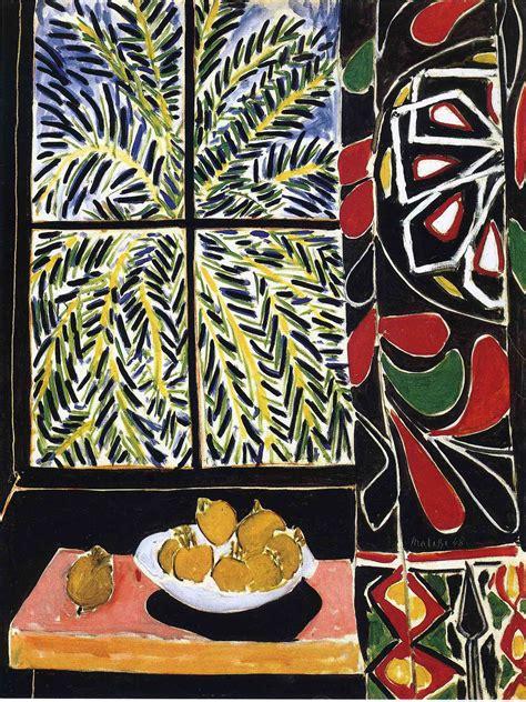 chambre h el avec interior with curtain 1948 henri matisse