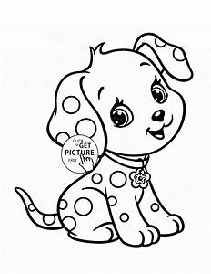 Baby Puppy Coloring Pages - vitlt.com