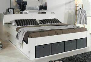 Stauraumbett 140x200 Weiß : bettanlage bett 140x200 cm stauraumbett funktionsbett schlafzimmer weiss neu ebay ~ Eleganceandgraceweddings.com Haus und Dekorationen