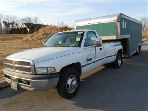Find Used Dodge Cummins Dually Pickup Truck With Foot