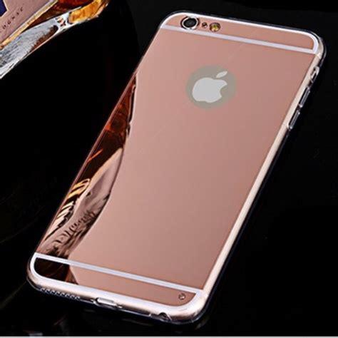 iphone pink gold rose gold mirror iphone 6s case poshmark Iphon
