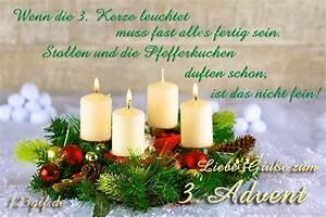 Grüße Zum 2 Advent Lustig : kostenlose 3 advent bilder gifs grafiken cliparts ~ Haus.voiturepedia.club Haus und Dekorationen