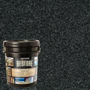 Deck Resurfacer Home Depot by Restore Deck Liquid Armor Resurfacer 4 Gal Water Based