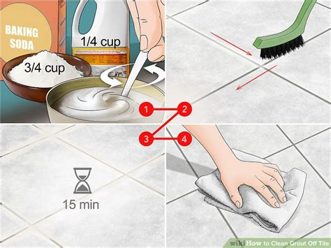 how to clean grout between tiles in kitchen 4 ways to clean grout tile wikihow 9712