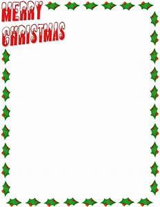 Merry Christmas Clip Art Borders