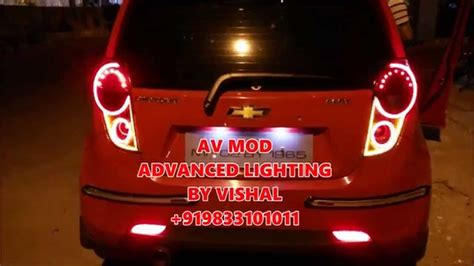 Beat Modified Lights by Chevrolet Beat Led Custom Light By Vishal