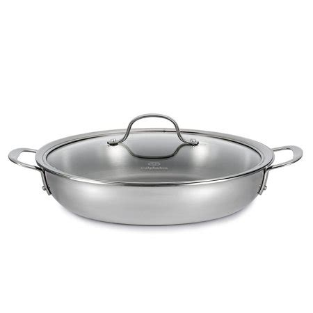 calphalon tri ply   stainless steel everyday pan