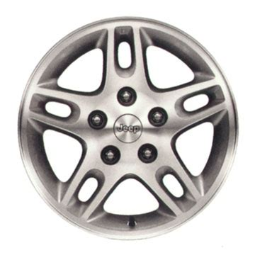 Kickers Blade Wj mopar silverblade 1 wheel for 1999 2004 grand wj