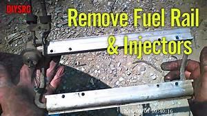 Remove Lt1 Engine Fuel Rail And Fuel Injectors