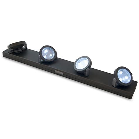 battery operated under counter lights rite lite 12 led under cabinet light walmart com