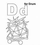 Drums Pages Coloring Momjunction sketch template
