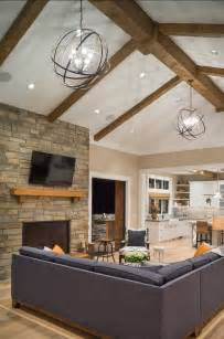 Inspiring Vaulted Ceiling Family Room Photo by Best 25 Vaulted Ceiling Lighting Ideas On