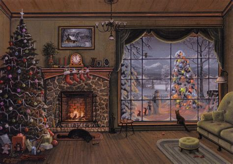 Cozy Christmas Home Decor: Merry Christmas To All -- Jesse Barnes