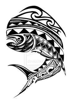 tuna fish skeleton tattoo images - Google Search