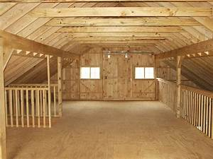 Barn Loft Construction - Building Garage Loft