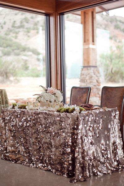 rustic table linens for weddings rustic glam texas wedding by cristy cross head tables