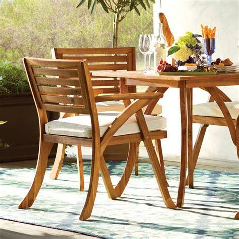 wood patio furniture youll love wayfair