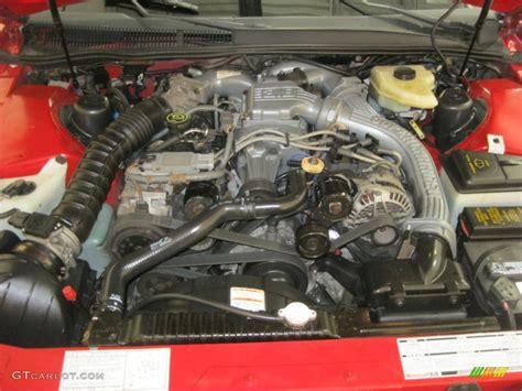 Supercharged V6 Engine by 1990 Ford Thunderbird Sc Coupe 3 8 Liter