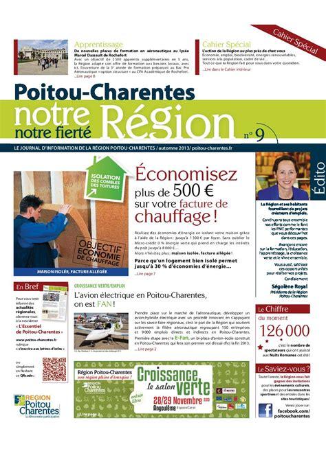 騅ier cuisine 1 bac poitou charentes notre région notre fierté journal n 9 by region poitou