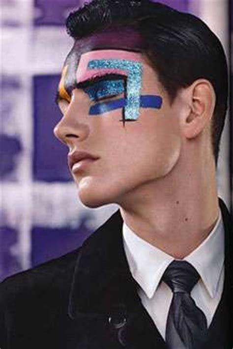 glittery man makeup paul helbers shows guys   shine   men magazine