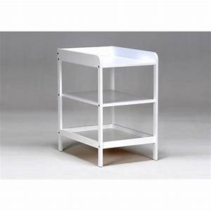 malaga meuble a langer laque blanc achat vente table With meuble langer