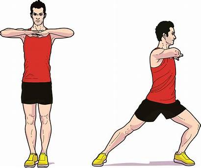 Exercise Warm Side Injury Rotation Lunge Prevention