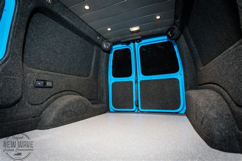 rees vw caddy maxi lining conversion  wave