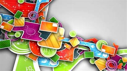 Abstract 3d Colorful Desktop Backgrounds Modern Designs
