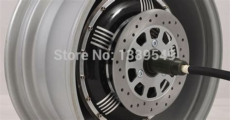 Electric Car Hub Motor 273 4000w Extra Type/v3 In-wheel