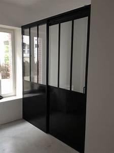 Porte Coulissante Verriere : porte coulissante verri re indoor concept verri re ~ Carolinahurricanesstore.com Idées de Décoration